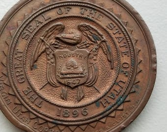 1909 Alaska Yukon Pacific Exposition Utah Exhibit So Called Dollar