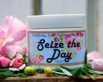 Seize the Day organic face cream