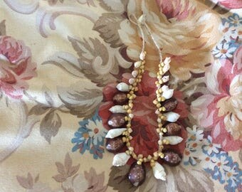 Vintage Hawaiian Shell Necklace