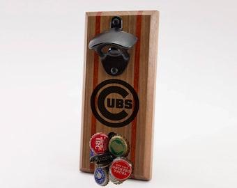Chicago Cubs Magnetic Bottle Opener