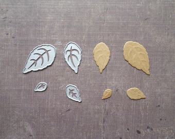 Die cut matrix Sizzix Nature 4 leaves