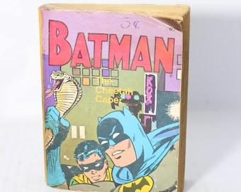 """MINI Batman 1965 Comic Book """"The Cheetah Caper"""" As Is a Whitman Book"""