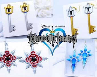 Kingdom Hearts Inspired Earrings