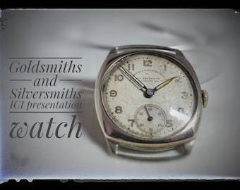 Goldsmiths and Silversmiths Presentation watch