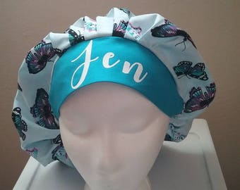 Personalized surgical scrub hat
