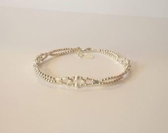 Bracelet rétro  argent 925