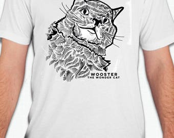 "Wooster The Wonder Cat T-Shirt ""Be Your Own Stalker"""