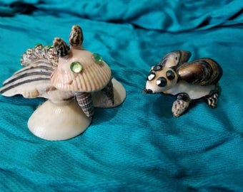 Shell Art Creatures