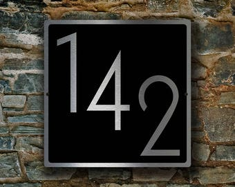 MODERN NUMBERS SIGN, Outdoor Numbers Sign, Custom House Numbers, Numbers Sign, Modern Door Numbers, Door Numbers Sign, Door numbers Plaque