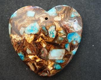 HEART shape PENDANT GEMSTONE