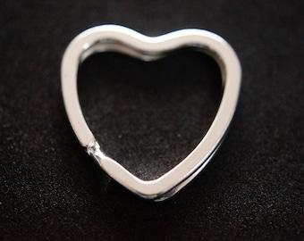 SHAPE heart key ring