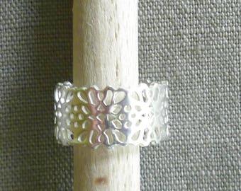 "Silver ring ""filigree ring"""