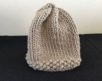 Hand Knit Super Bulky Hat