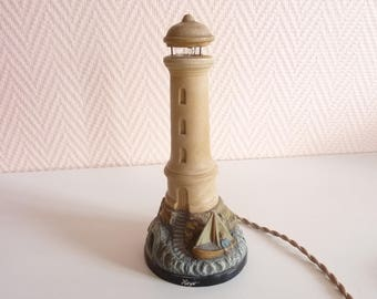 Lighthouse sea Royan edge terracotta Souvenir of holiday ref 215