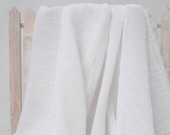 Type-white cotton seersucker No. 369 140 cm by 50cm