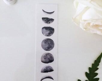 Sale-40% moon phase tattoo-small moon phase-temporary tattoo
