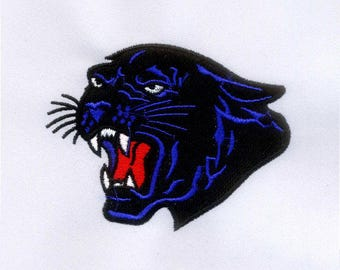 Restless Panther Machine Embroidery Design