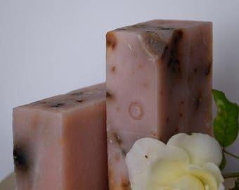 Rose Geranium Soap (Vegan)
