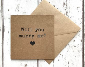 Will you marry me, love card, proposal card, fiancé card, valentines day, fiancée card, valentines card, will you marry me card