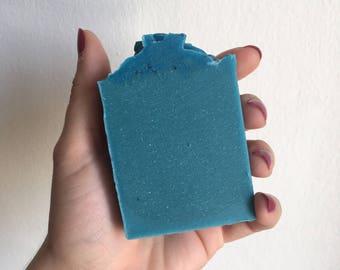 """I'm Afraid I Just Blue Myself"""" Soap"""