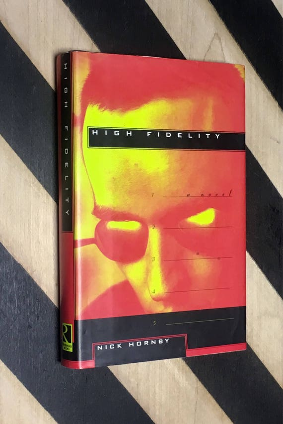 High Fidelity by Nick Hornby (1995) hardcover book