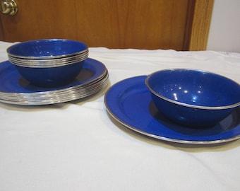 Vintage Metal Plates