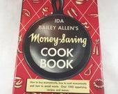 Money-Saving Cookbook - Ida Bailey Allen - Vintage Cookbook - 1940s Cookbook - Vintage Recipes - Economic Cooking - 1940s Recipes
