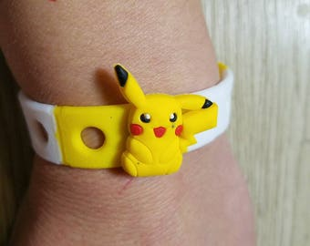 10  Pokemon and Dunosaurios  Silicone Bracelets Party Favors