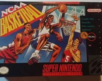 Authentic NCAA Basketball Complete In Box