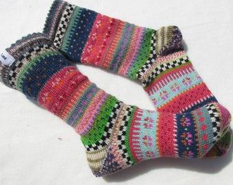 Bunte Socken Adla Gr. 39/40
