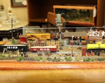 Working Rail Road Yard