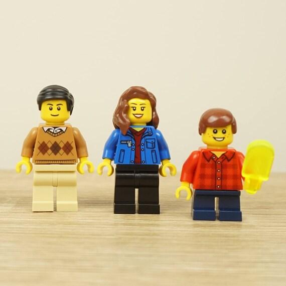 Lego Family Lego Cake Topper Family Gift Birthday Gift