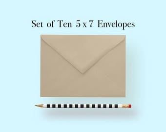 5x7 Kraft Envelopes, A7 Kraft Envelopes, Kraft Envelopes 5 x 7, Kraft Envelopes 5x7, Kraft Envelopes A7