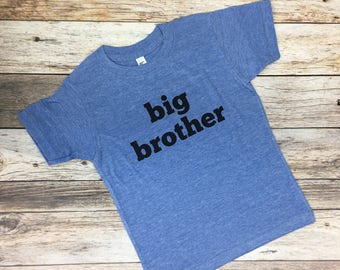 Big Brother Shirt. Big brother announcement. Pregnancy announcement shirt. Big Brother. Brother shirts. Sister shirts. Sibling shirts.