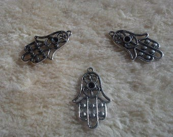 SET OF 3 NEW HAMSA HANDS