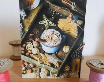 Carte postale thé 2