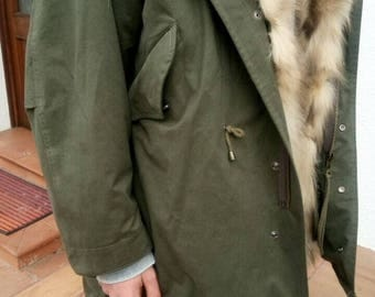 Fur Parka Made in italy
