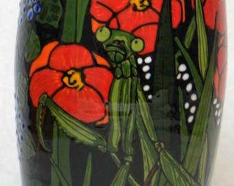 Praying Mantis Vase (#1)