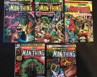 Man Thing Lot (5 books)