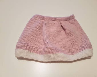 Knitted skirt