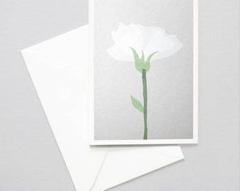 Greeting card - flower