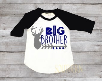 Big Brother, Little Brother, Deer Little Brother, Sibling shirts, Big Brother Little Brother Shirts, Brother Shirt, Shower Gift, New Baby