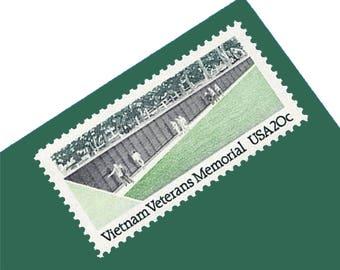 Pack of 20 Unused Vietnam Veterans' Memorial Postage Stamps - 20c - 1984 - Unused - Quantity of 20
