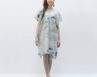 Japanese sewing pattern series | Nani IRO HANDMADE PATTERN | 1:1 Pattern | Dress, One-piece , One piece,