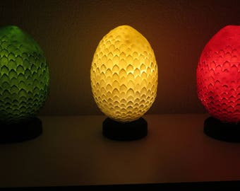 Dragon Egg Light / Night Light / Bedside Lamp