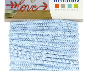 5 meter wire knitting Blue - Blue 5mm string - 13001054