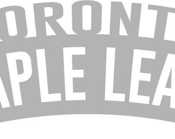 Toronto Maple Leafs Wordmark Decal