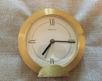Vintage Tiffany Desk Clock
