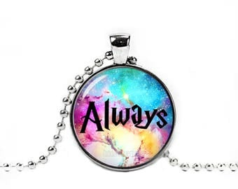 Always Necklace Always Symbol Pendant Fandom Jewelry Fangirl Fanboy Cosplay