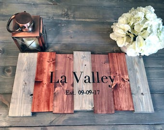Rustic Hand Painted Wood Wedding Guest Book Alternative, Rustic Wedding Guest Book, Wedding Guest Book Alternative, Hand Painted Sign